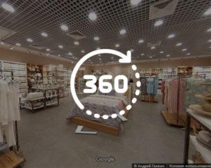 3D тур для магазина «COZY HOME»